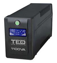 Stabilizator de tensiune tip UPS, 1.1KVA, TED